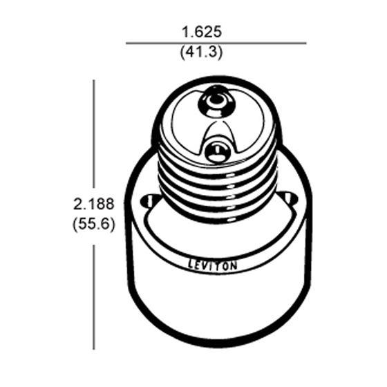 Golo Medium Base Socket Extender