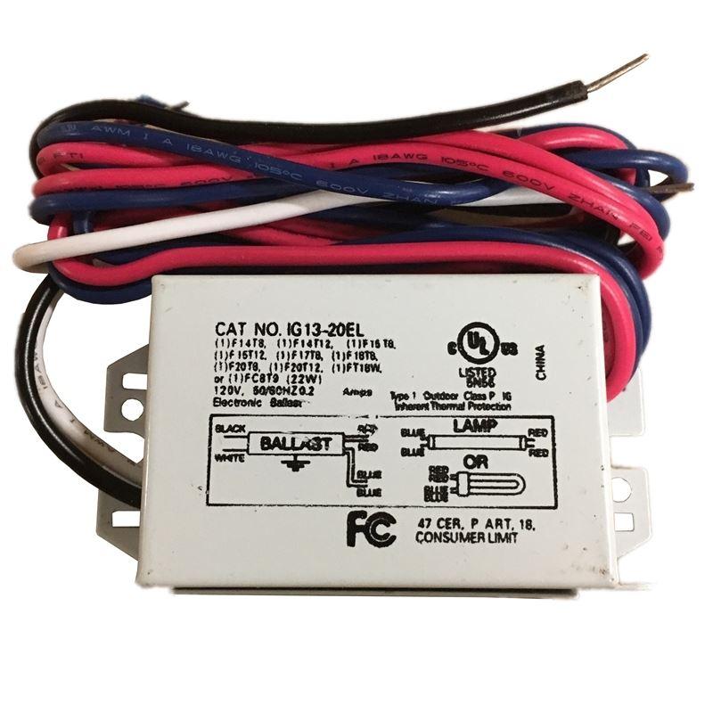 Inter-Global IG13-20EL - One lamp - multi-lamp - 1