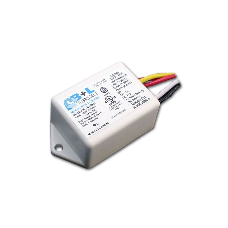 B/&L Technologies NU6-1128-PSX Compact Fluorescent Ballast